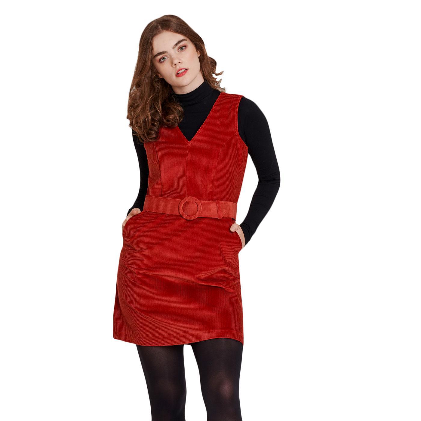 Viva La Groove MADEMOISELLE YEYE Retro Cord Dress