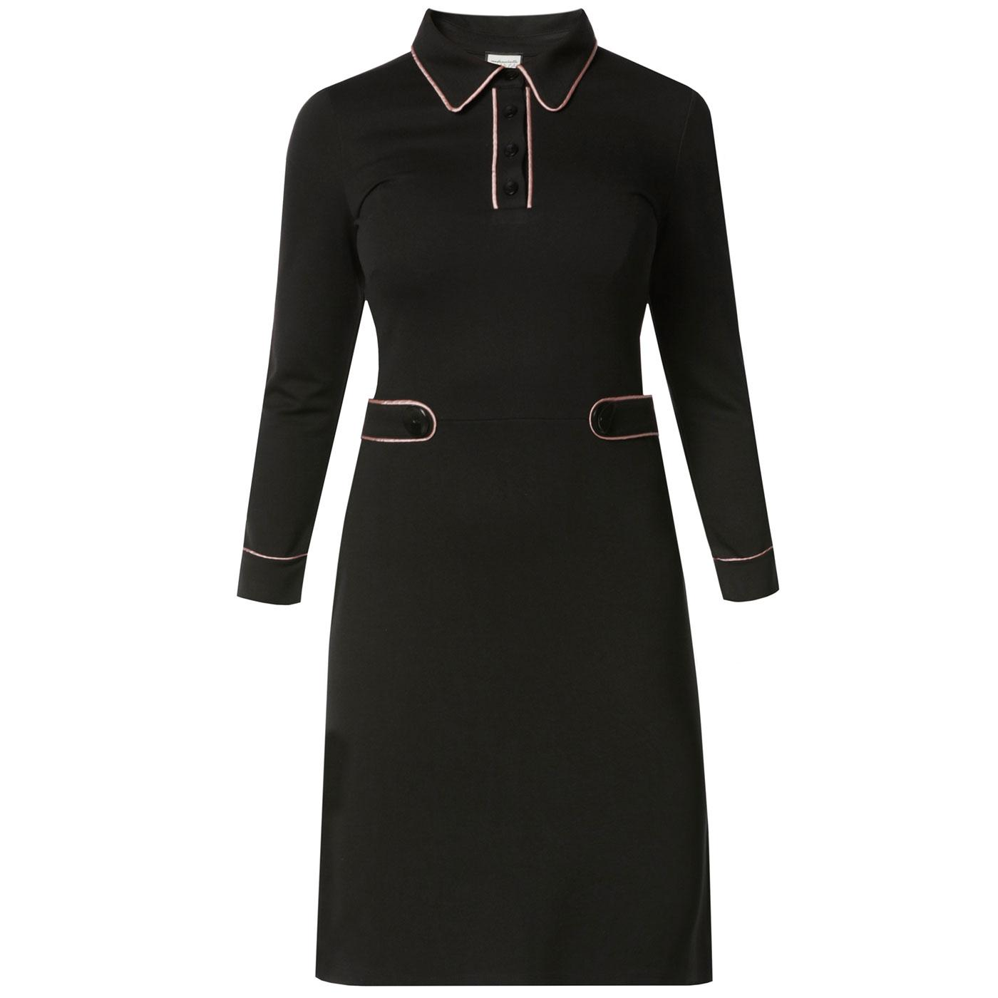 There She Goes MADEMOISELLE YEYE 60s Mod Dress