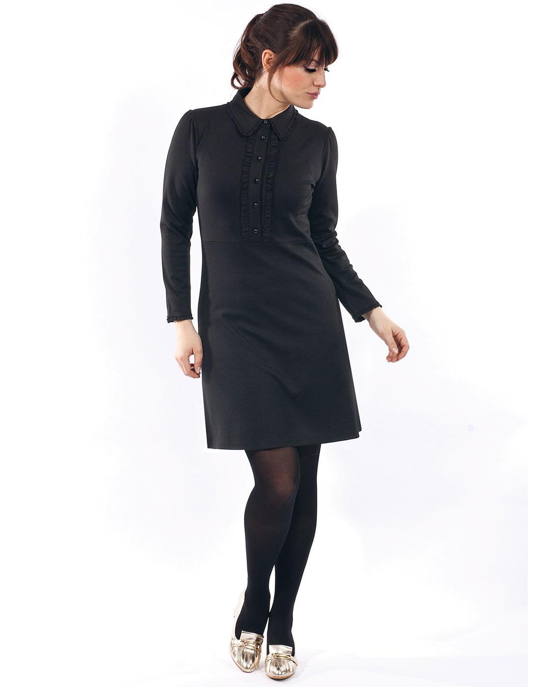 Rebecca MADEMOISELLE YEYE Retro 60s Mod Polo Dress