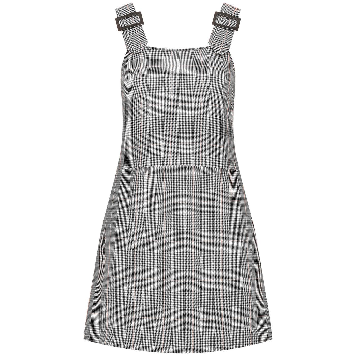 Pic Nic MADEMOISELLE YEYE Mod Check Pinafore Dress