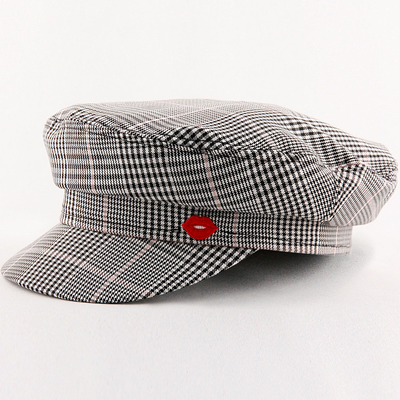 Think A Hat MADEMOISELLE YEYE Mod POW Check Cap