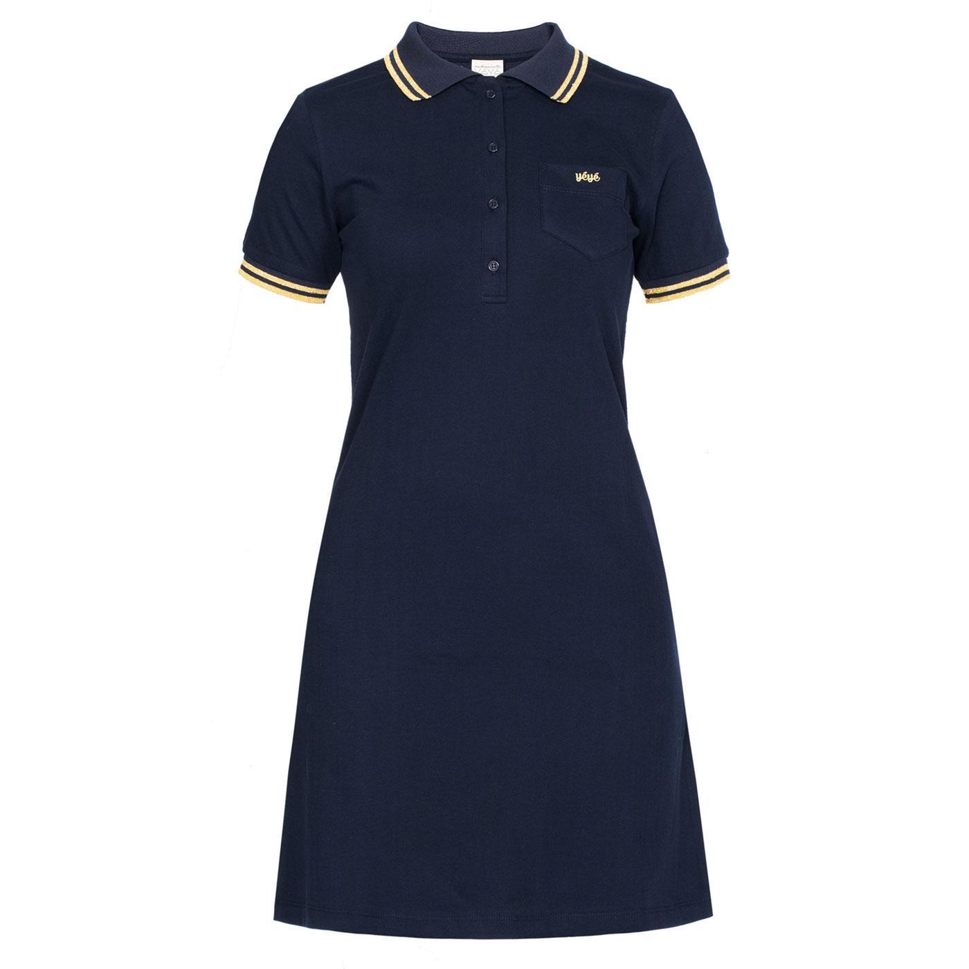 Rocksteady MADEMOISELLE YEYE 60s Mod Polo Dress