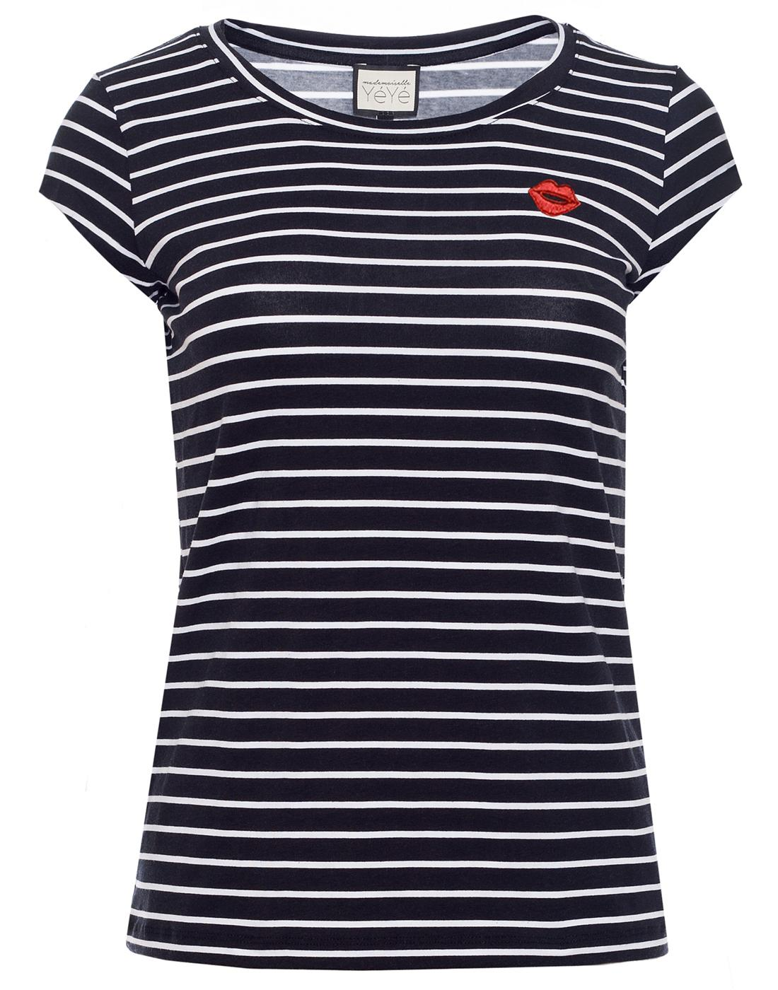 Tabea MADEMOISELLE YEYE Mod Nautical Stripe Top