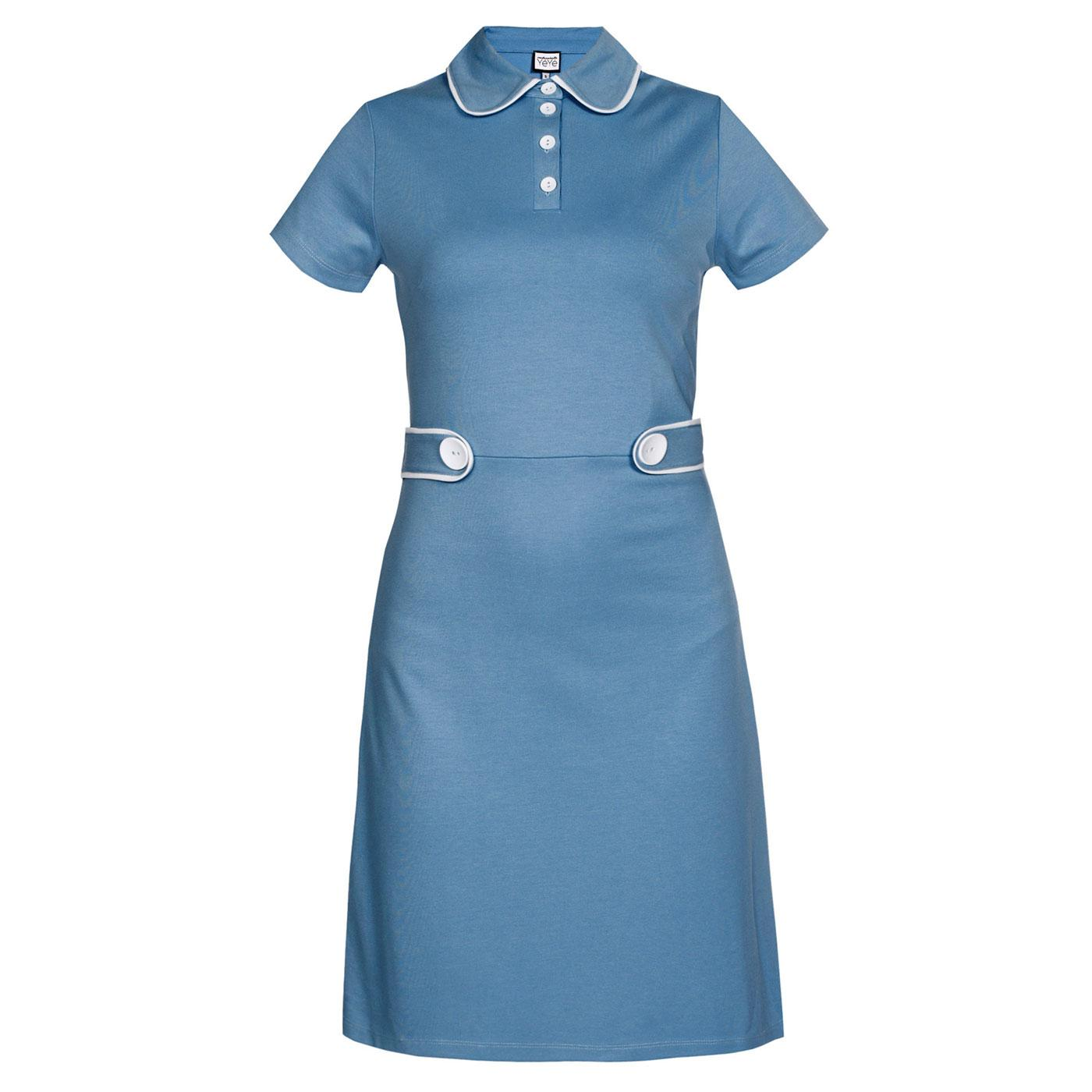 A Trip To Paris MADEMOISELLE YEYE 60s Mod Dress
