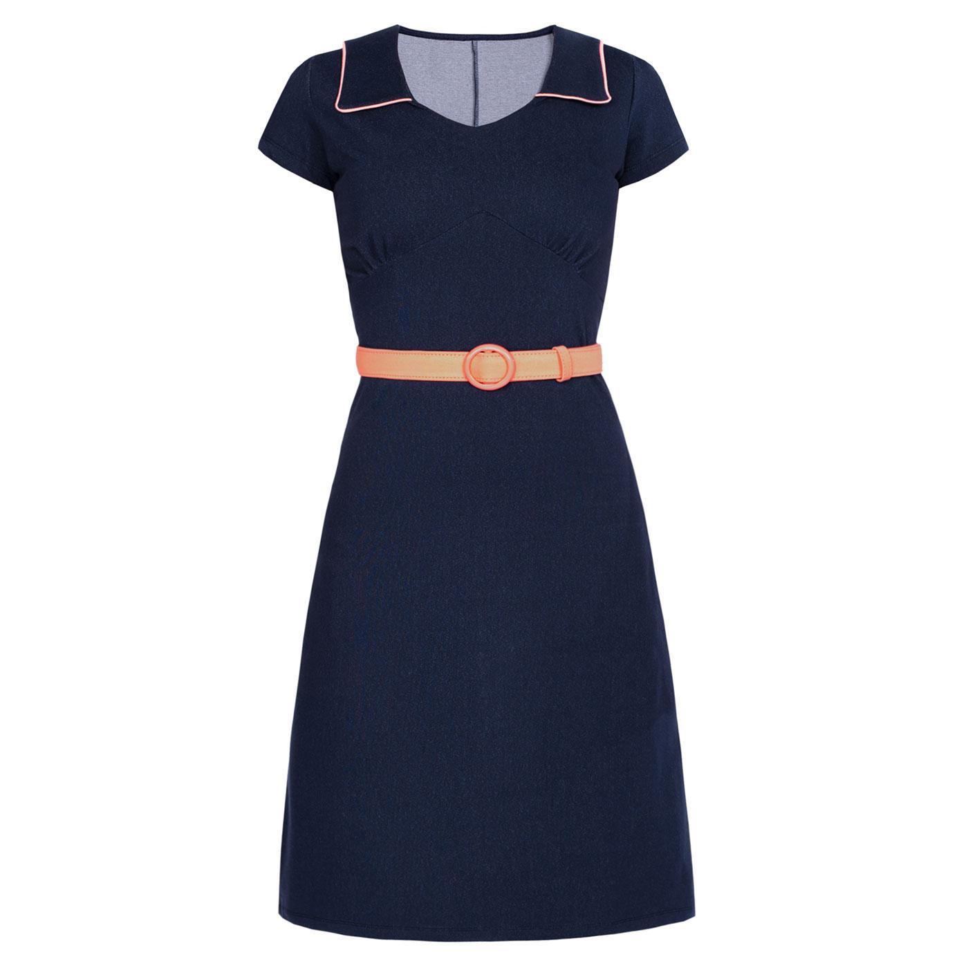 Vintage Moments MADEMOISELLE YEYE Denim Mod Dress