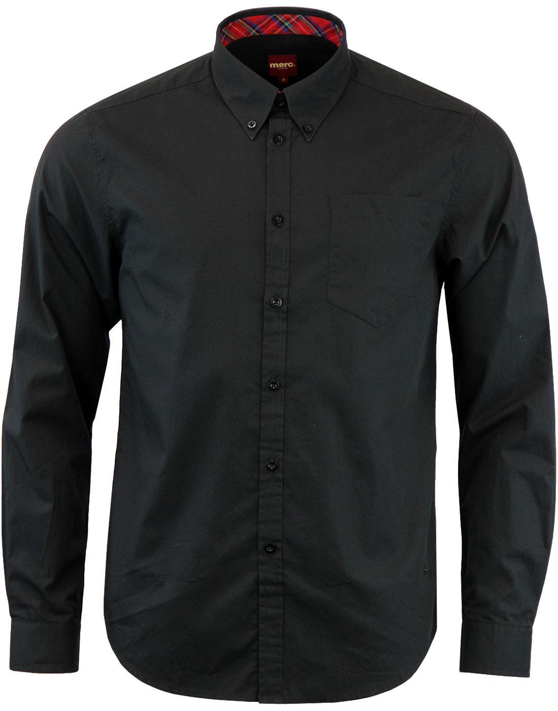 Albin MERC 60s Mod Button Down L/S Smart Shirt B