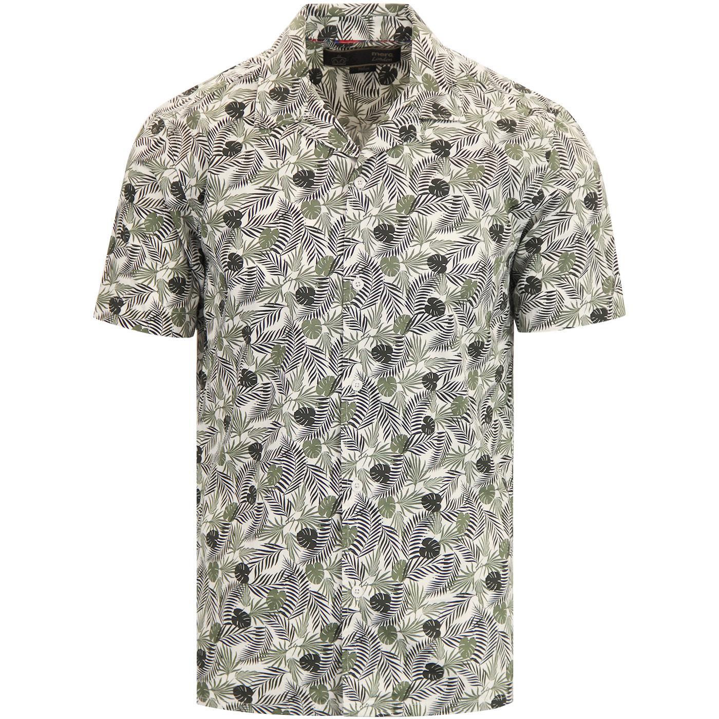 Darwin MERC 60s Cuban Collar Botanical Shirt OW