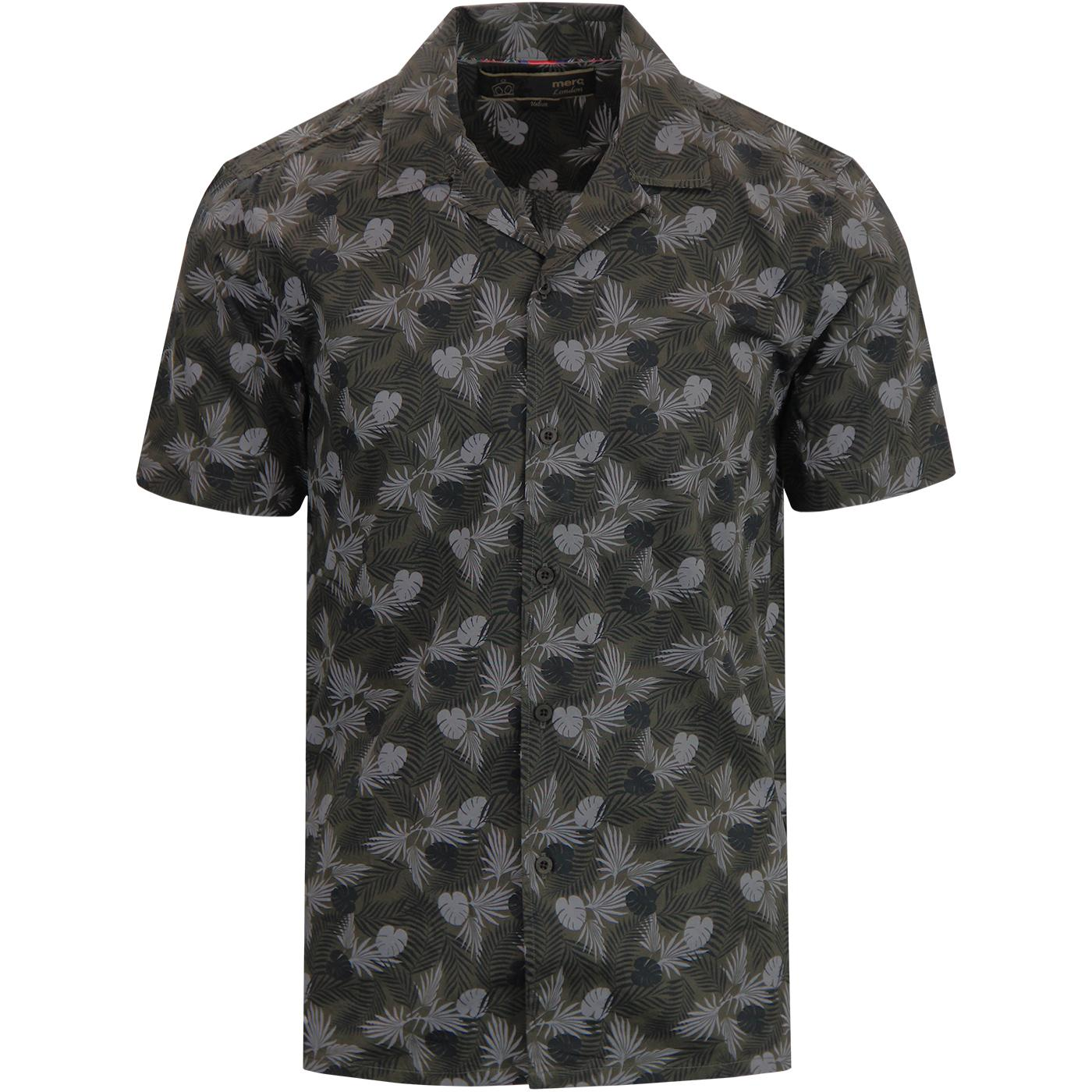 Darwin MERC Retro Cuban Collar Botanical Shirt DS