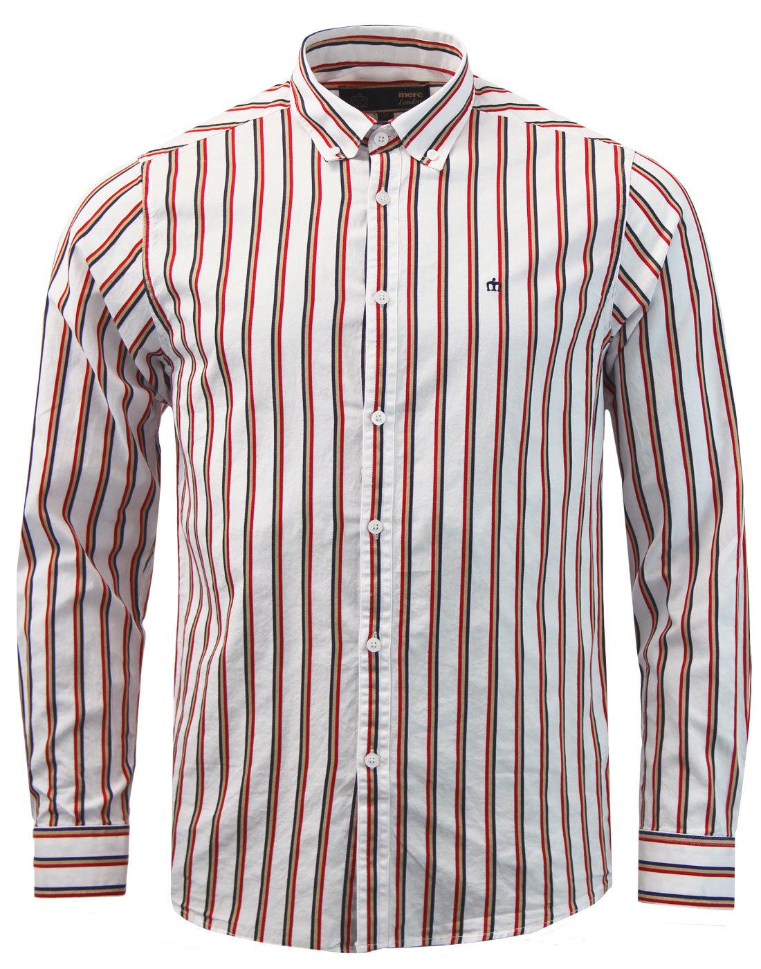 Elsted MERC 60s Mod Regatta Stripe Smart Shirt (W)