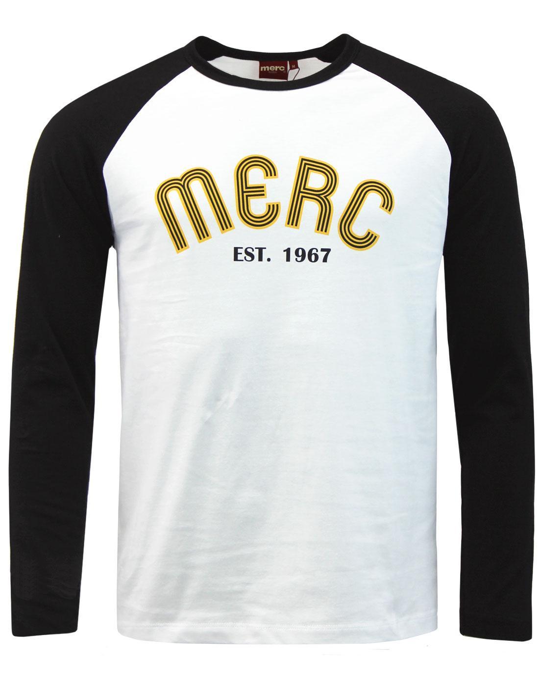 Fairdene MERC Retro 90s Archive Print Baseball Tee