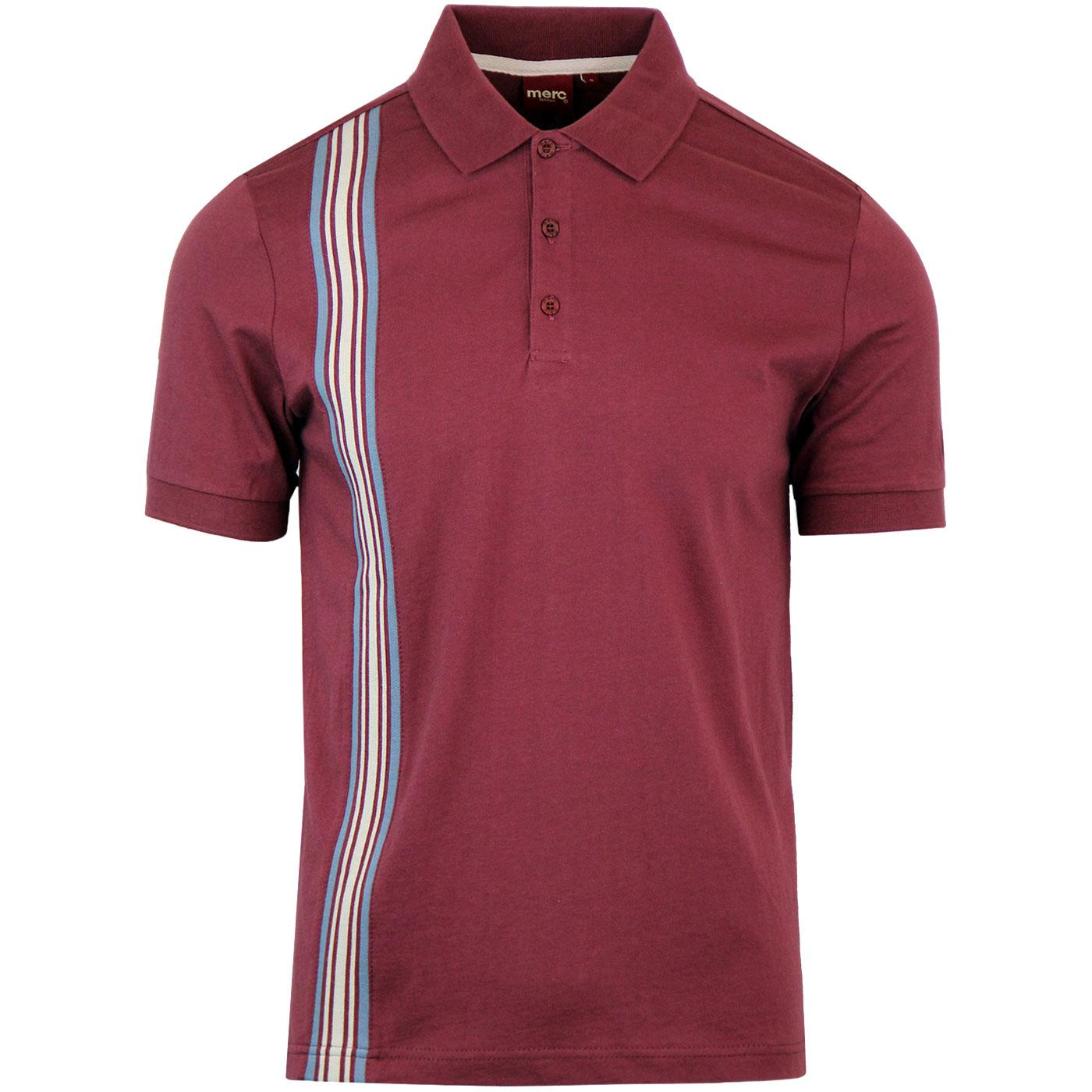 Goldhawk MERC Retro Racing Stripe Panel Polo (W)