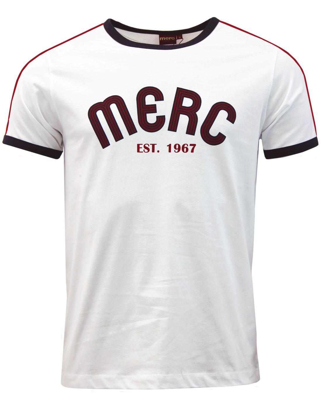 Haywood MERC Retro Mod 1990s Archive Print T-shirt