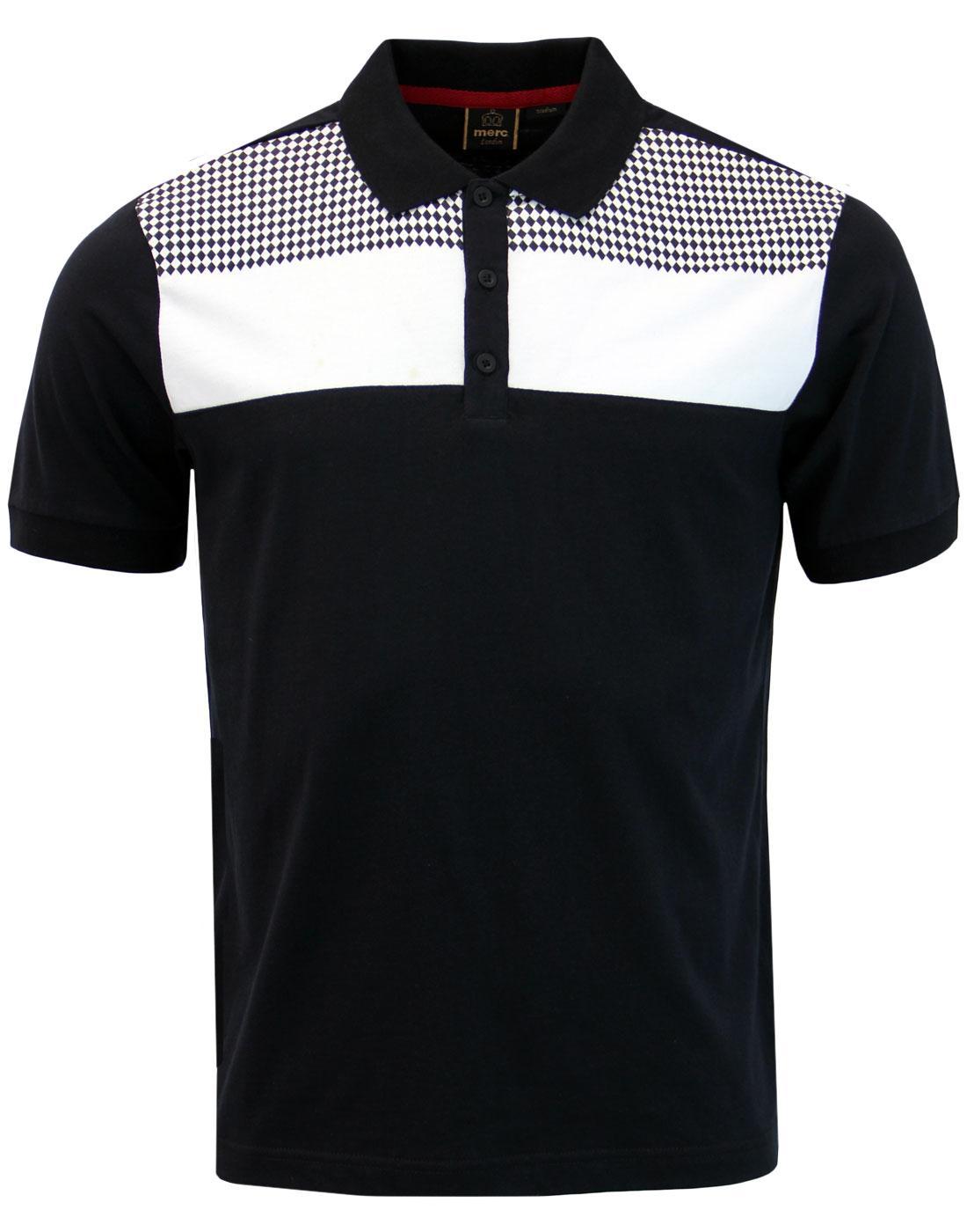 Howard MERC Retro Mod Diamond Panel Polo Shirt