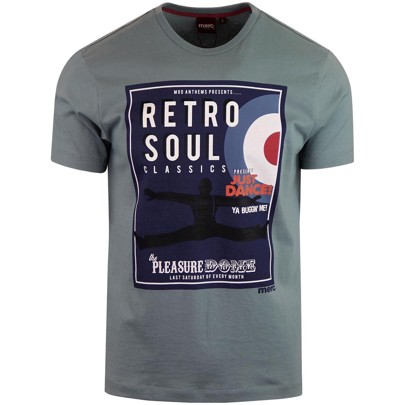 Palmer MERC Mod Soul Graphic T-shirt (Slate Blue)