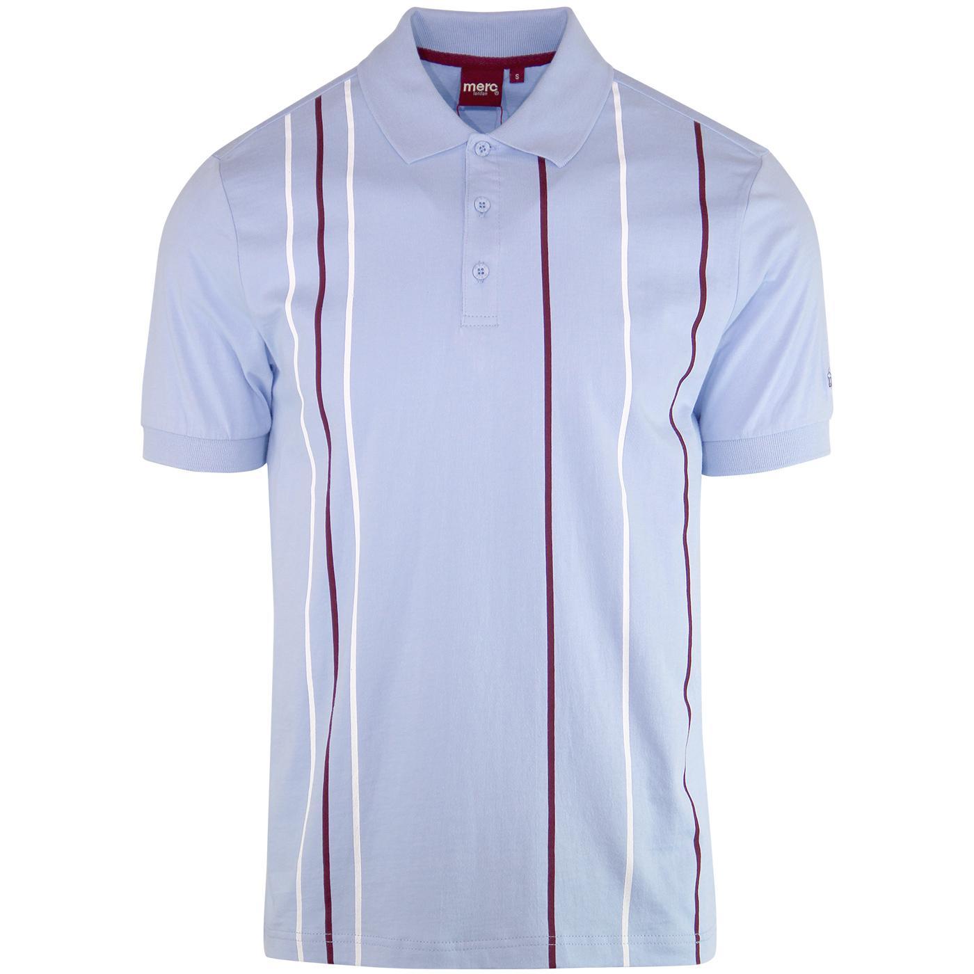 Randall MERC Mod Vertical Stripe Jersey Polo Top