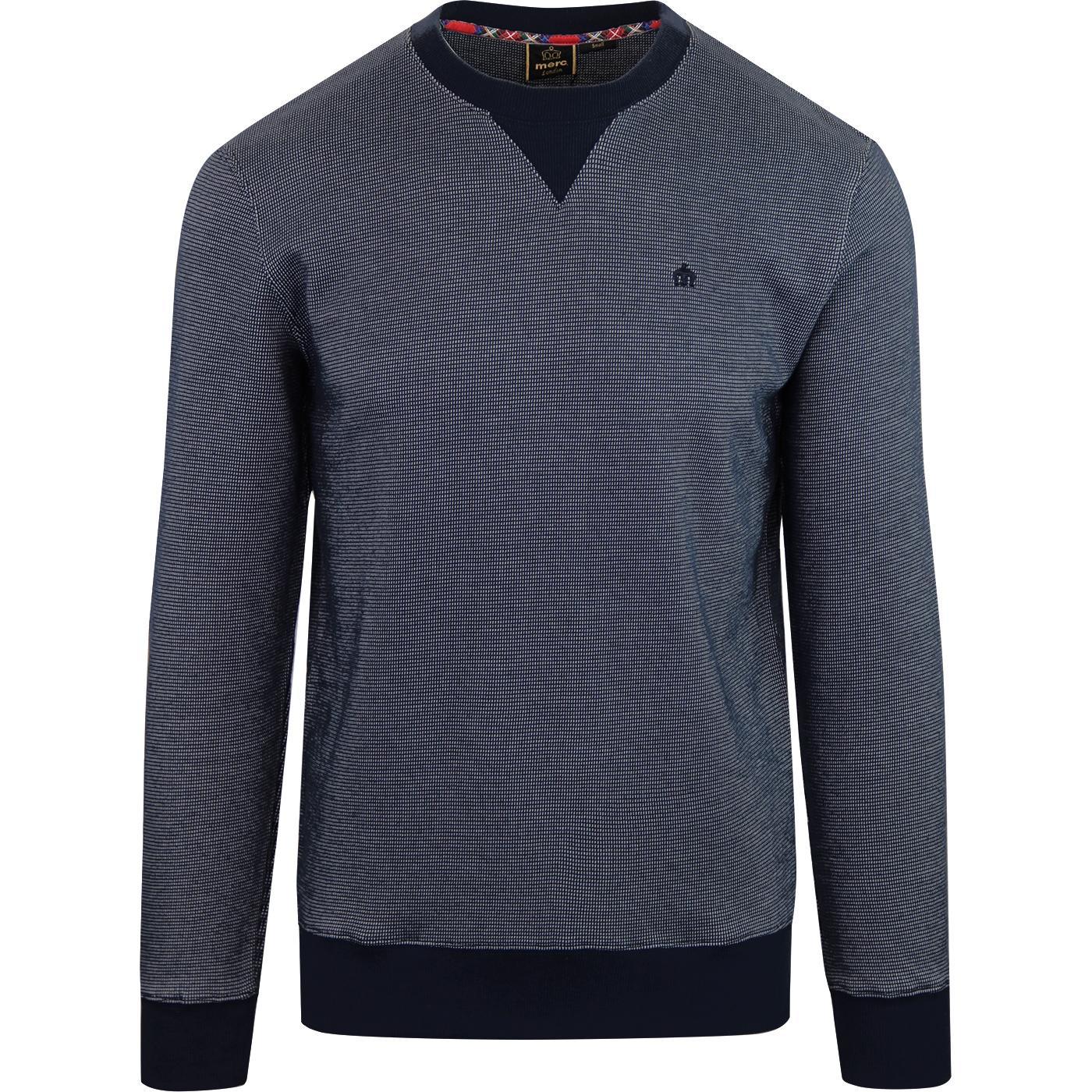 Shelton MERC Retro Mod Birdseye Crew Sweatshirt