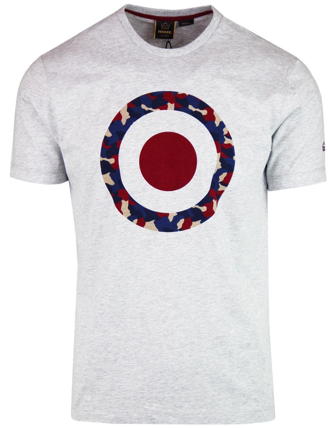 Tario Camo MERC Men's Retro Mod Target T-Shirt