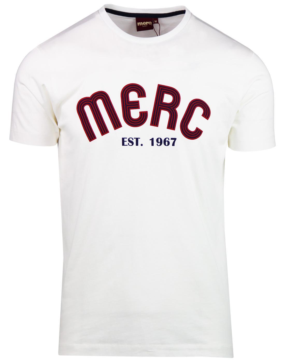 Waldron MERC Retro 90s Archive Logo T-shirt WHITE