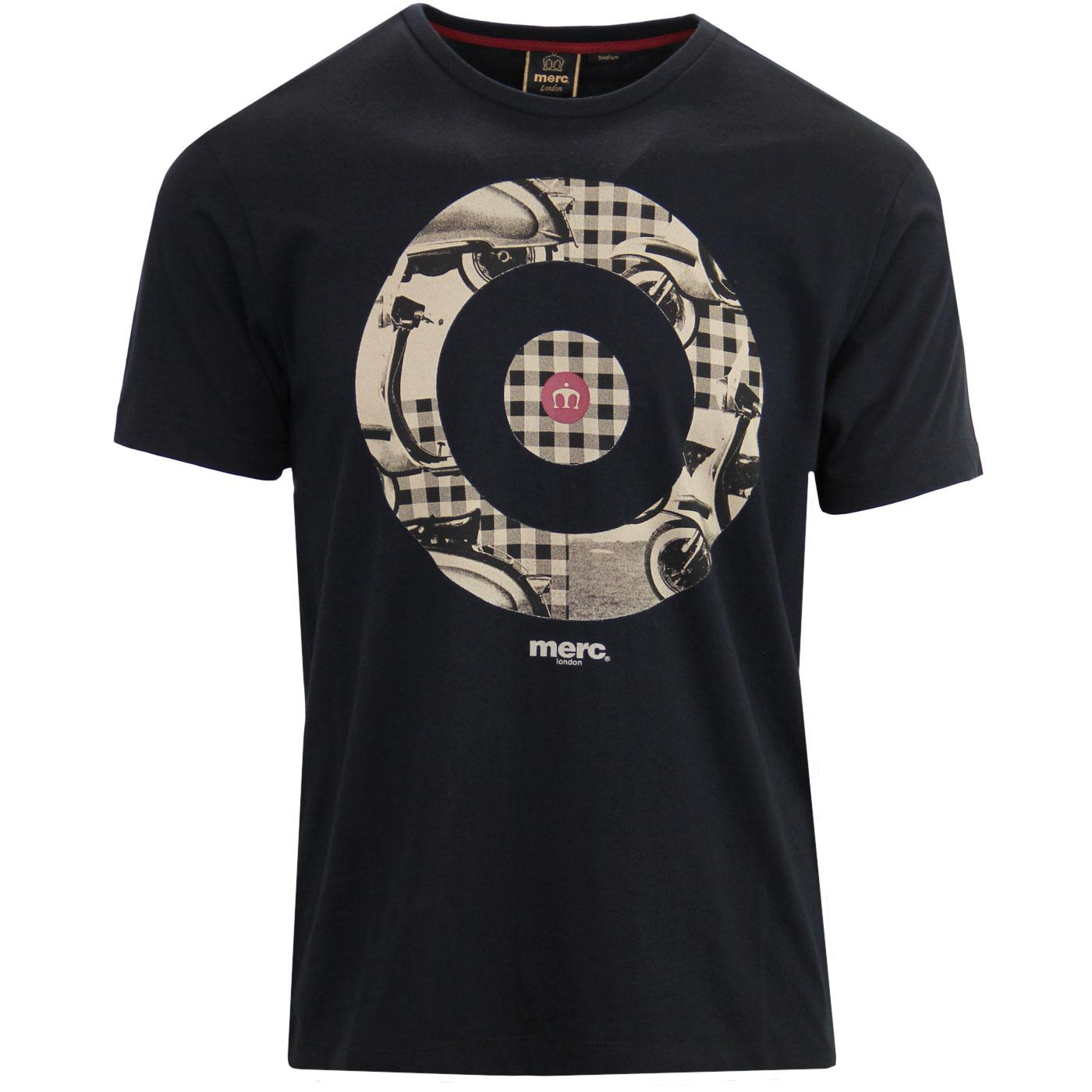 Windmill MERC Retro Scooter Check Mod Target Tee