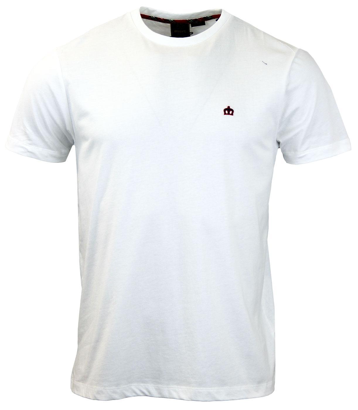 Keyport MERC Retro Mod Plain Crew Neck T-Shirt OW