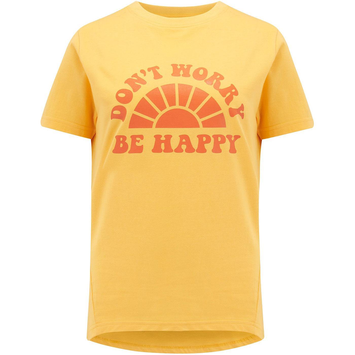 Mimi SUGARHILL BRIGHTON Don't Worry Be Happy Tee