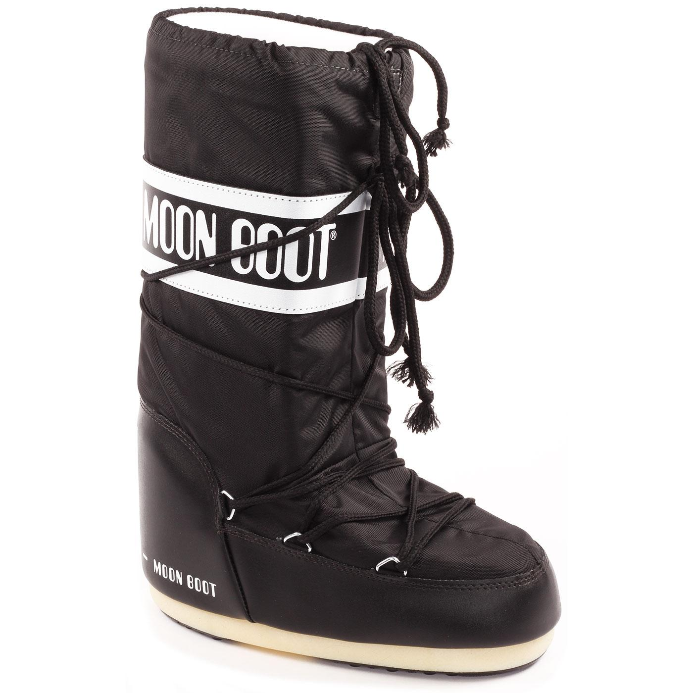 ORIGINAL MOON BOOT Classic Retro 70s Snow Boots B