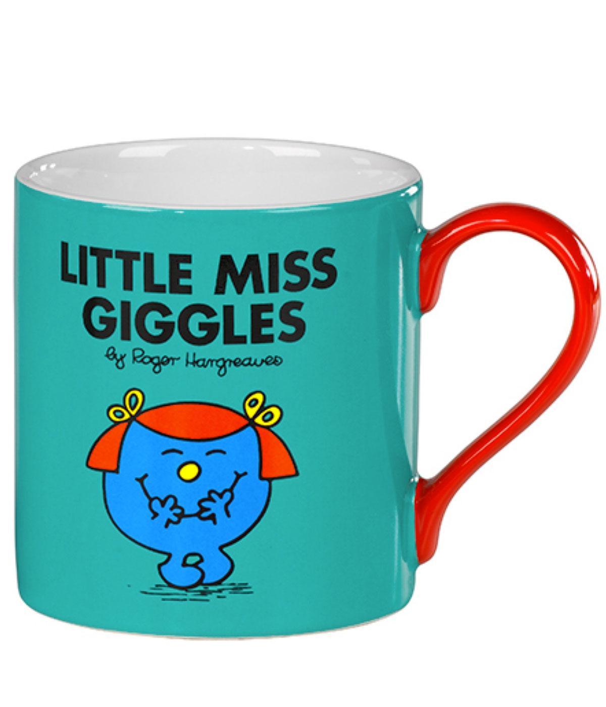 Little Miss Giggles - 70s Mr Men & Little Miss Mug