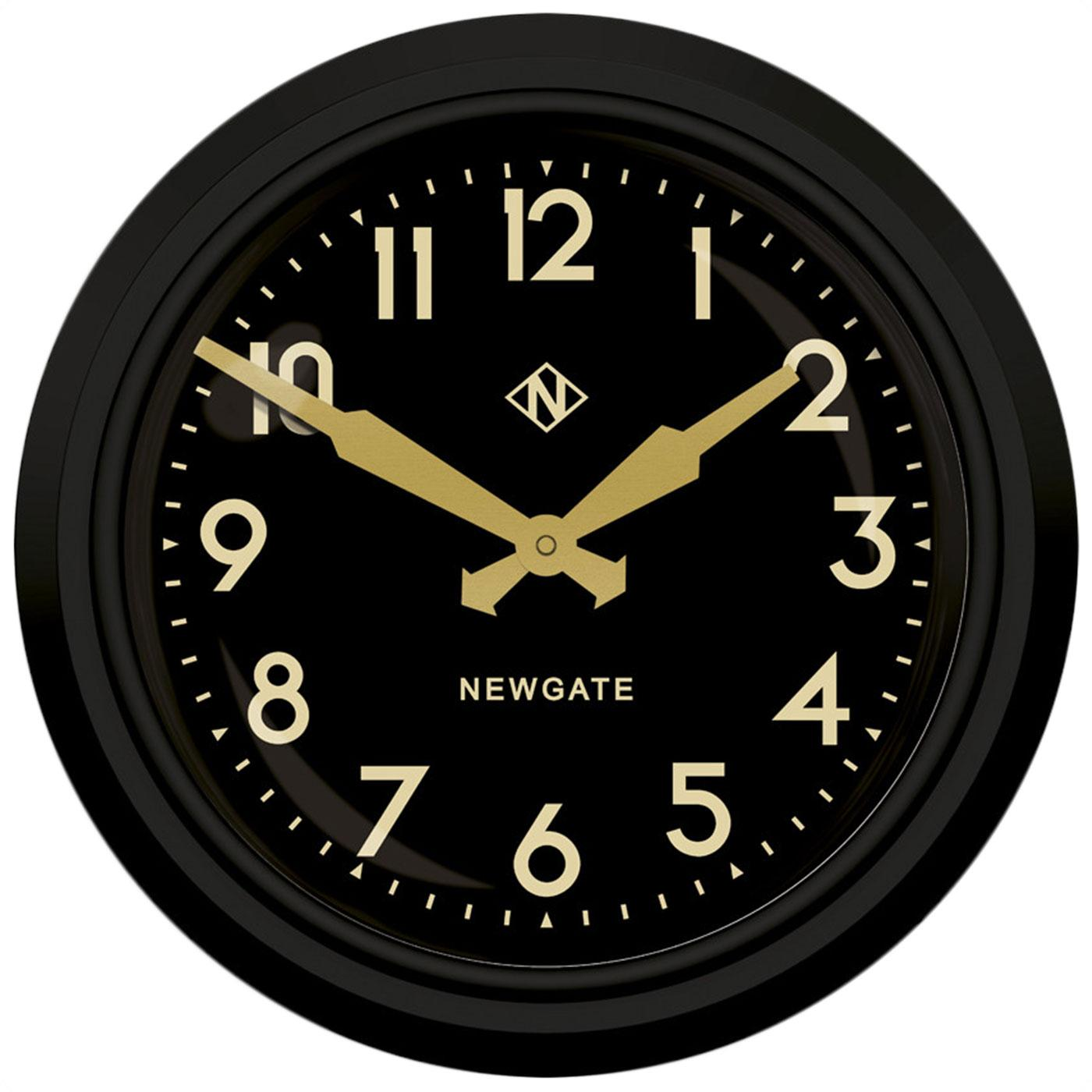 The Electric NEWGATE CLOCKS Retro Station Clock BB