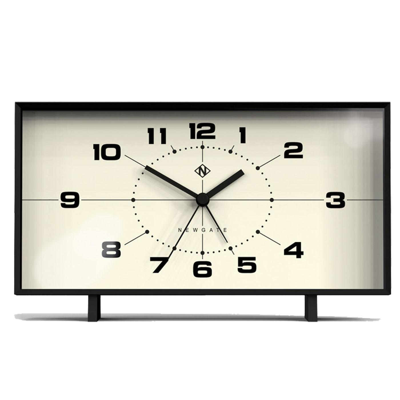 Wideboy NEWGATE CLOCKS Retro 50s Alarm Clock BW