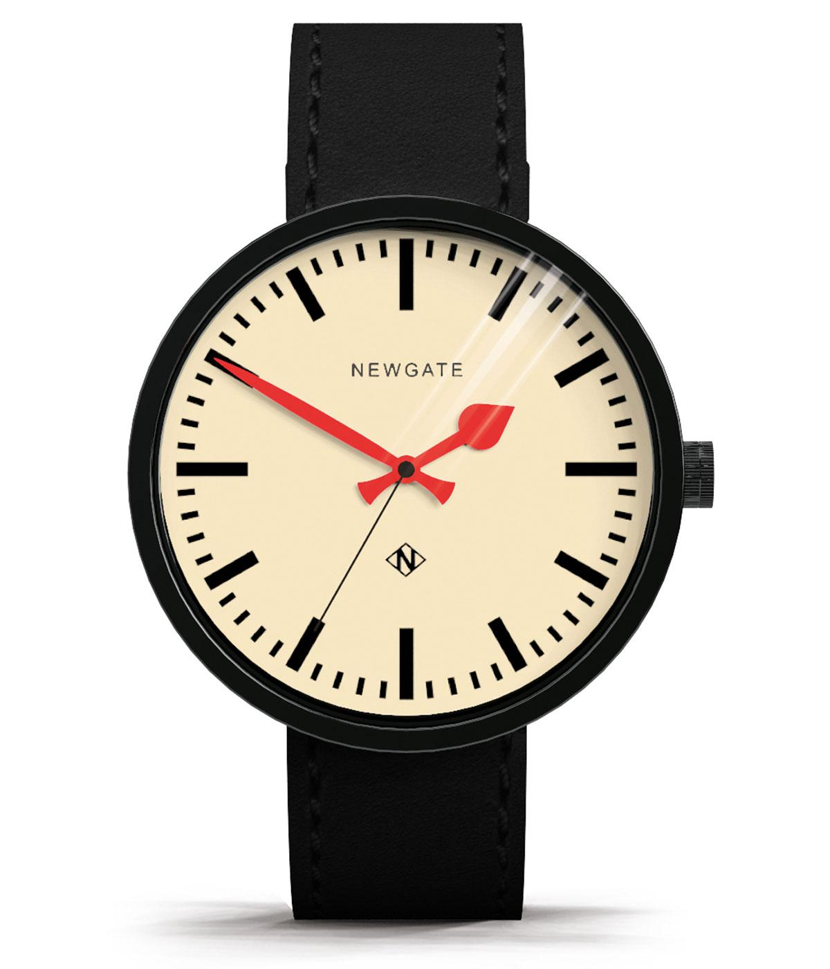 The Drummer Grand NEWGATE WATCHES Retro Mod Watch