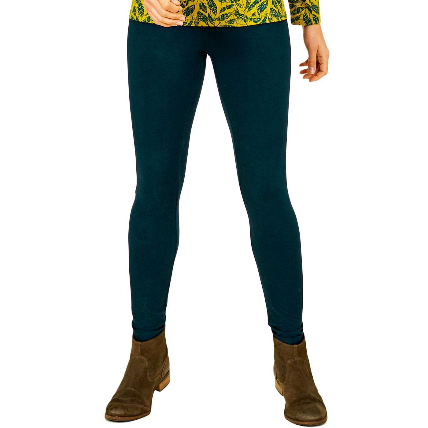 NOMADS Women's Organic Cotton Leggings Fir Green