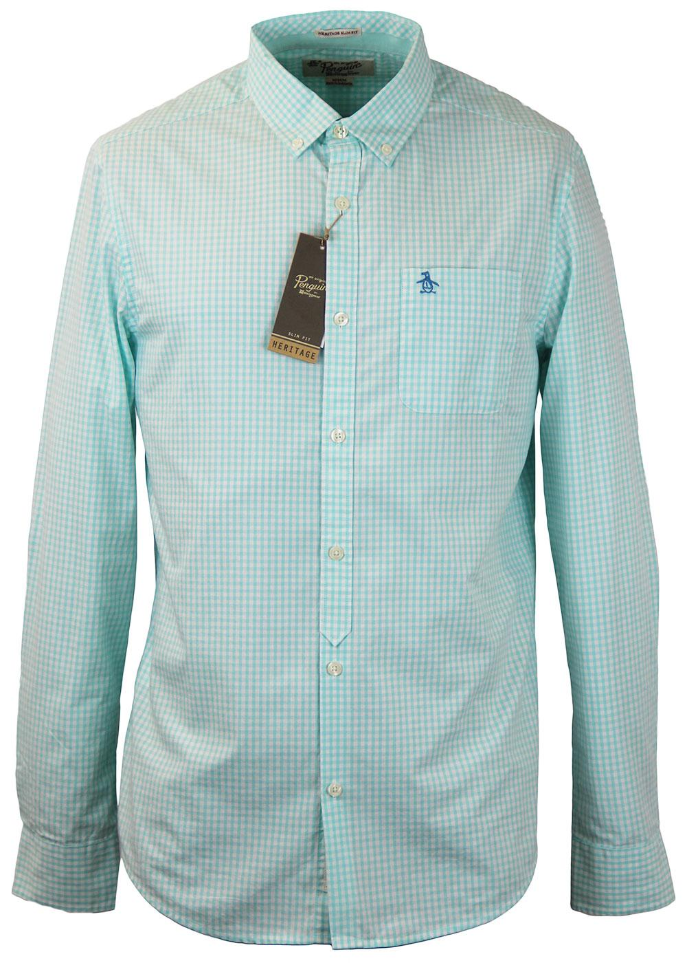 Belan ORIGINAL PENGUIN Retro Mod Gingham Shirt AB