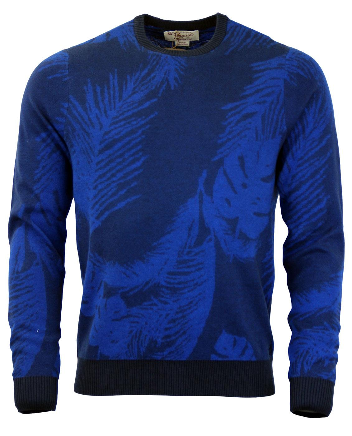 Mavina Palm ORIGINAL PENGUIN Retro Crew Jumper