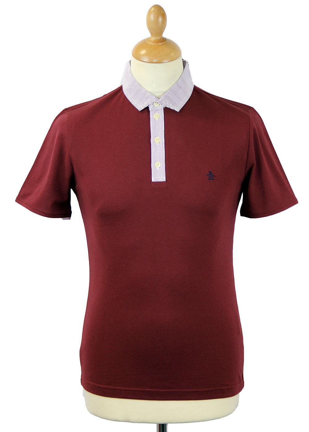 Gravia Original Penguin Retro Stripe Collar Polo T