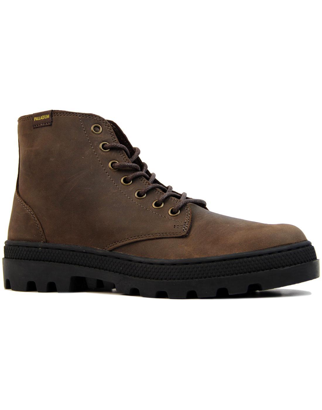 Pallabosse Mid PALLADIUM Oiled Leather Boots (C/B)