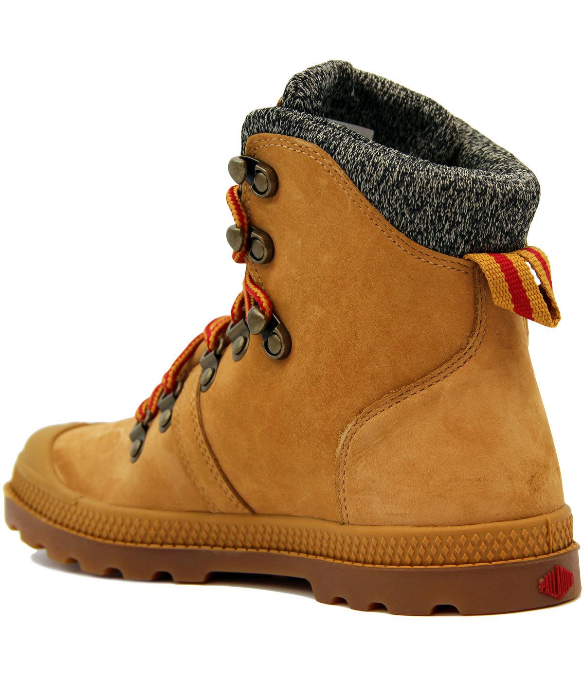 5fe8b1e6078 Pallabrouse Hikr LP PALLADIUM Retro Hiking Boots A
