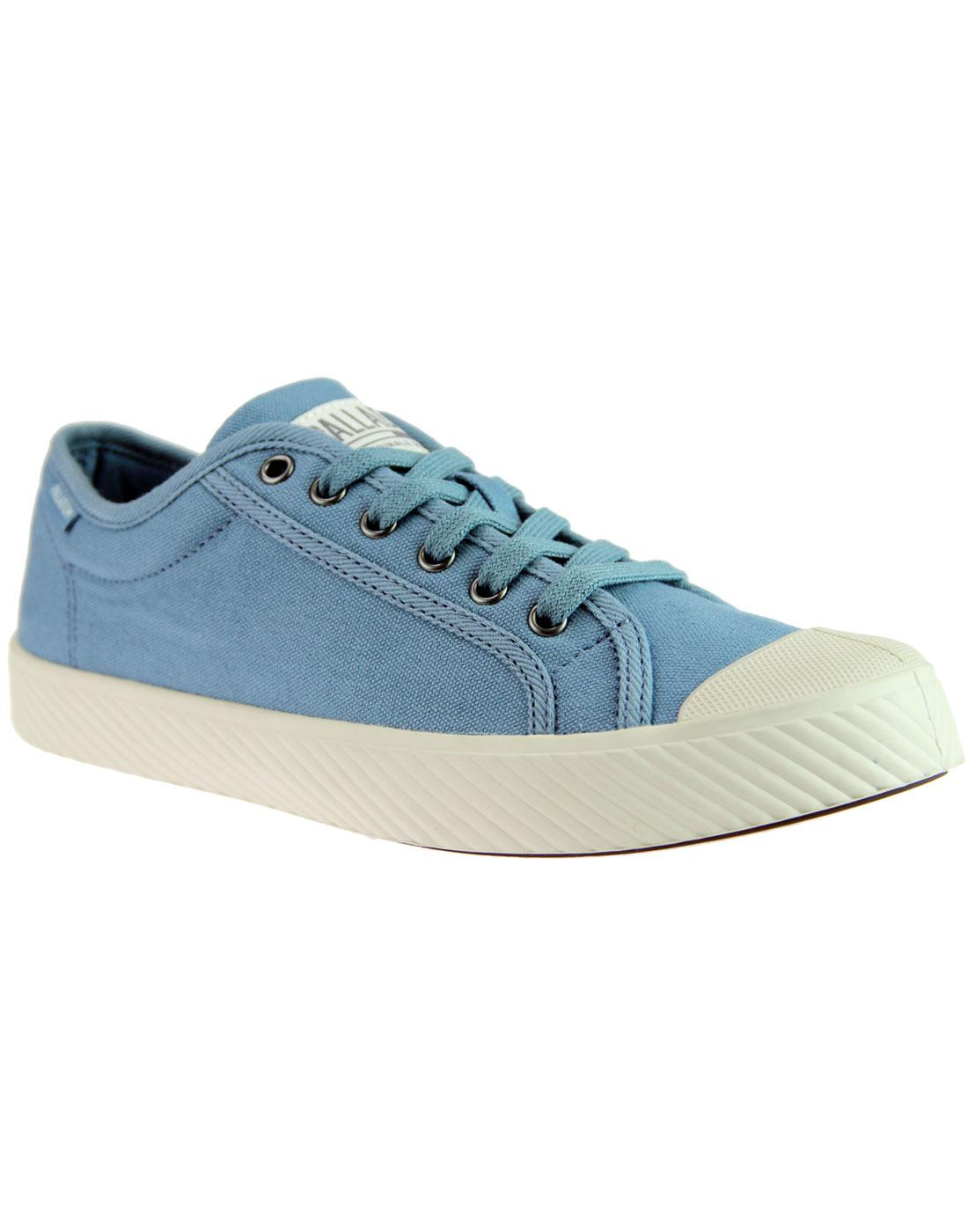 Pallaphoenix PALLADIUM Womens Canvas Trainers BLUE
