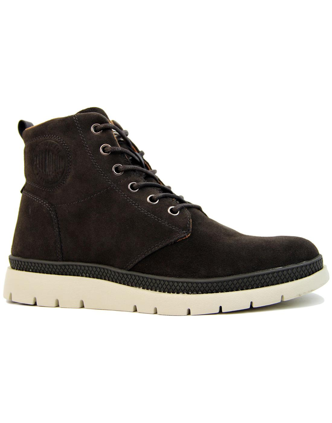 Pallasider PALLADIUM Mid Rise Suede Sneaker Boots