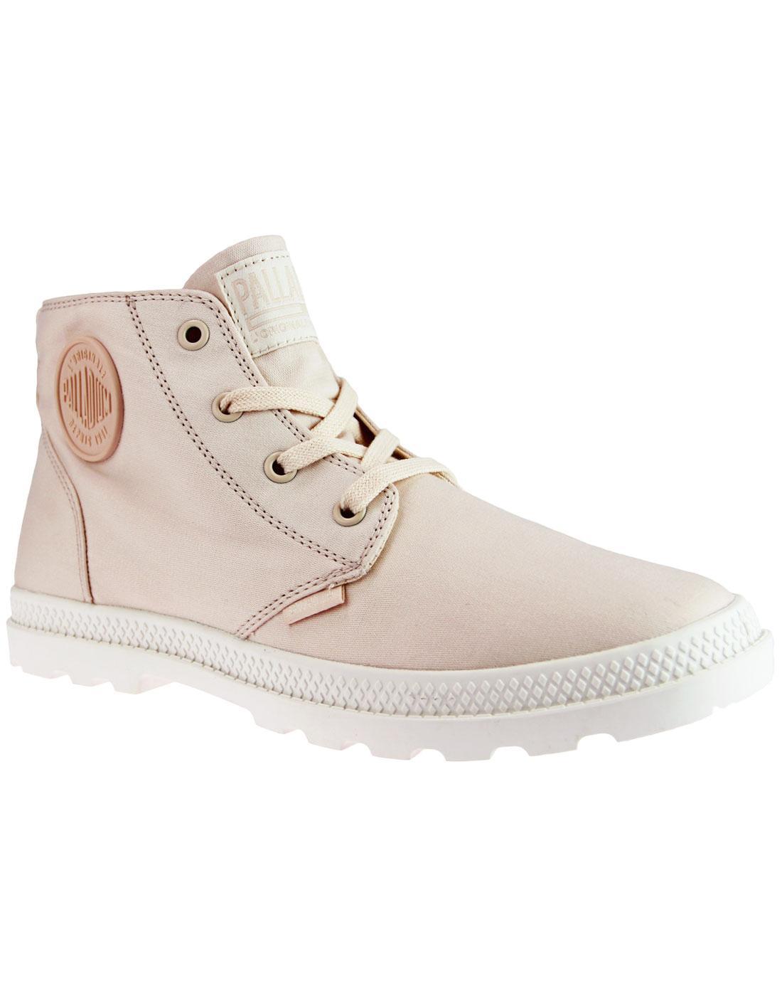 Pampa Free CVS PALLADIUM Women's Retro Boots LINEN