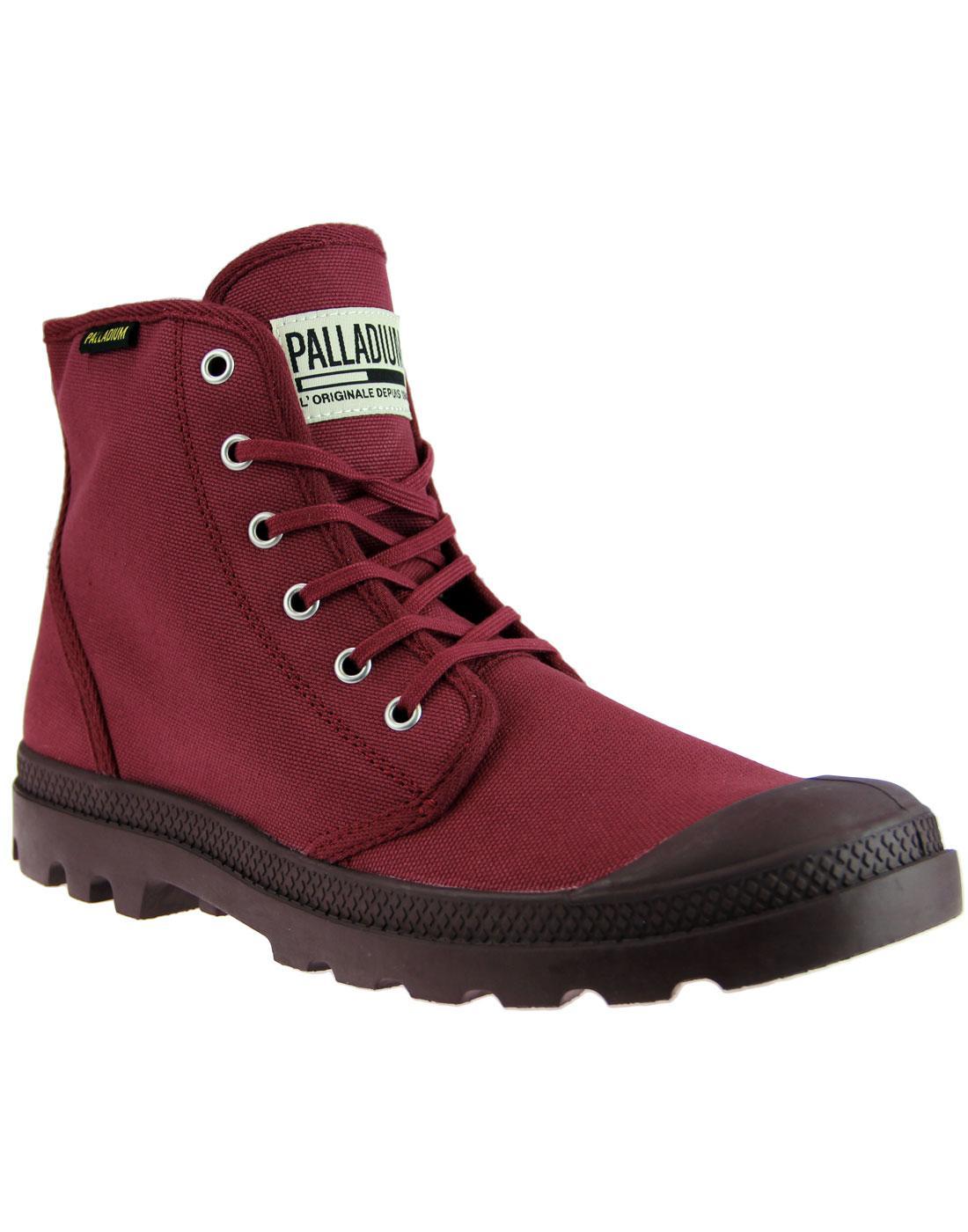 Pampa Hi Original PALLADIUM Men's Boots CABERNET