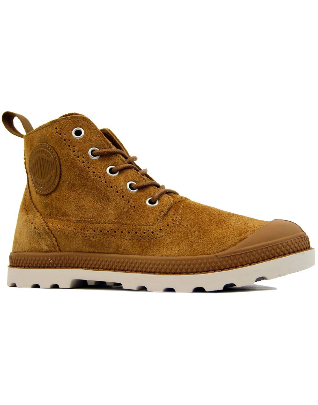 Pampa London PALLADIUM Retro Mid Suede Boots (BS)