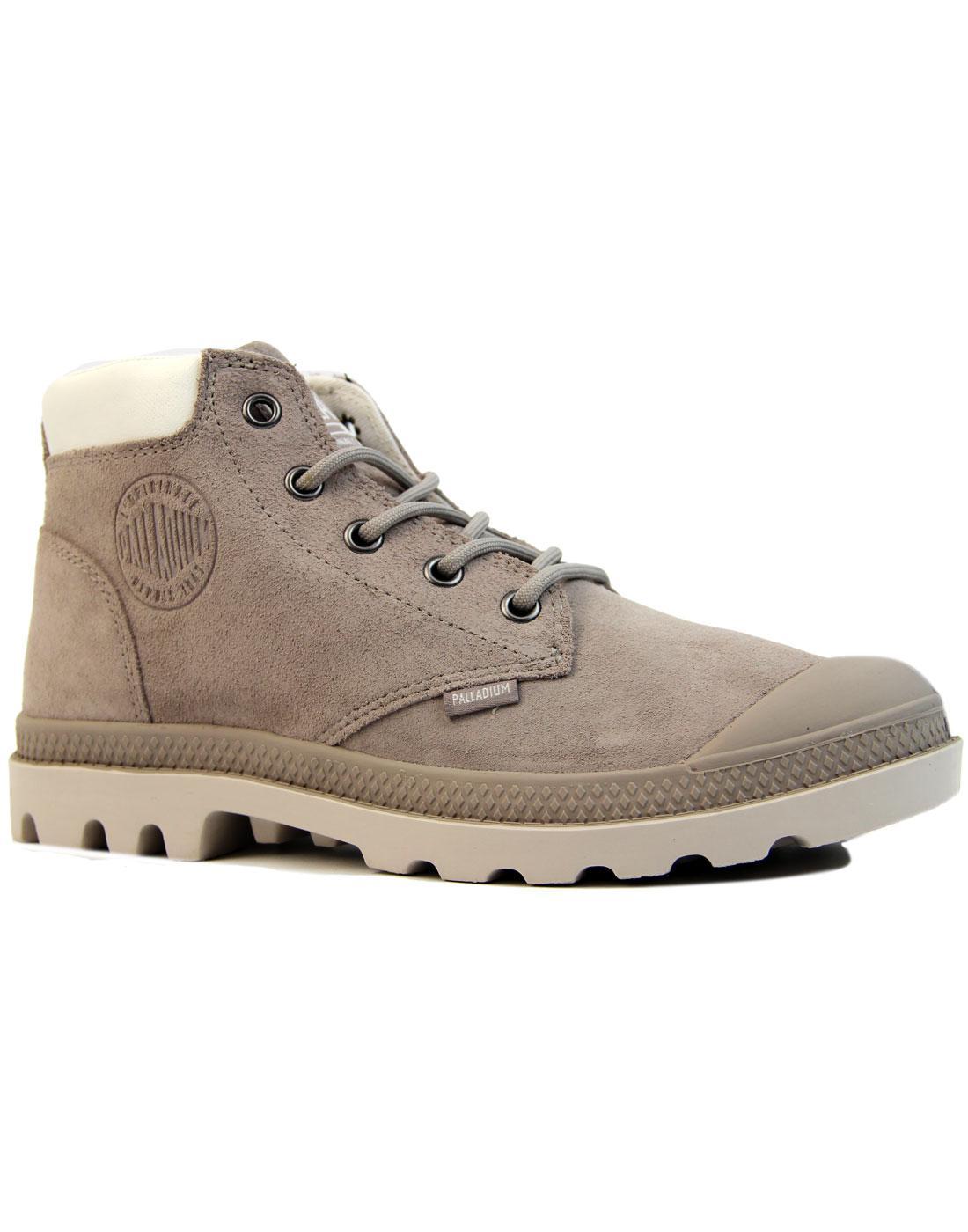 Pampa Lo Cuff PALLADIUM Retro Mid Suede Boots (SG)