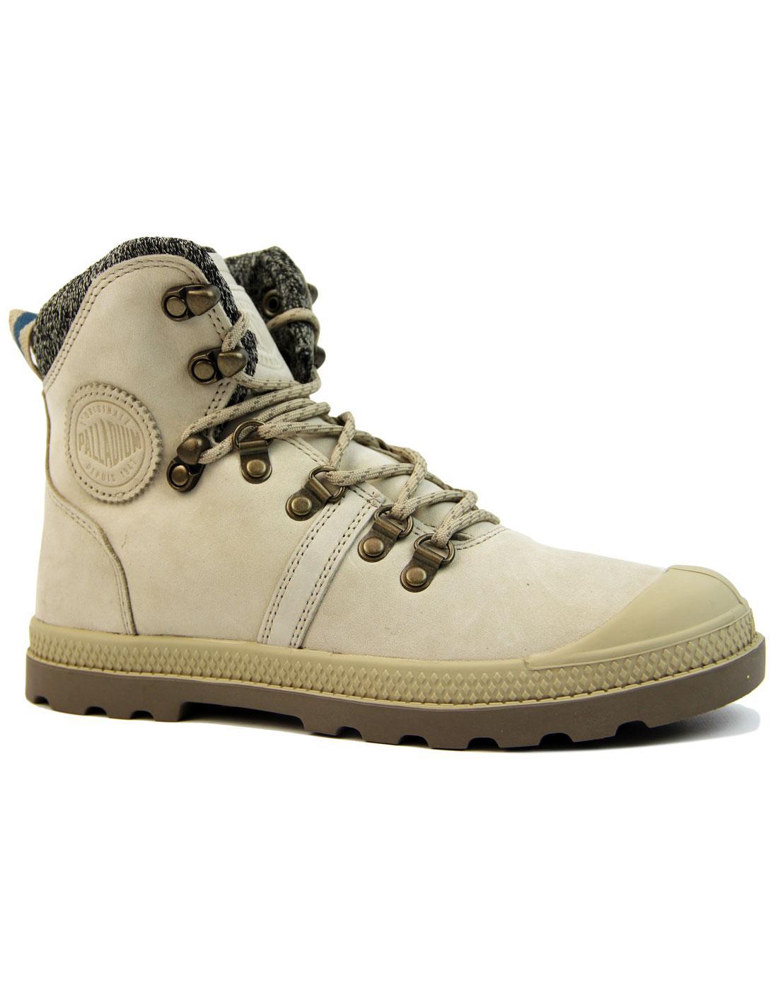 Pallabrouse Hiker PALLADIUM Retro 70s Boots (S/B)