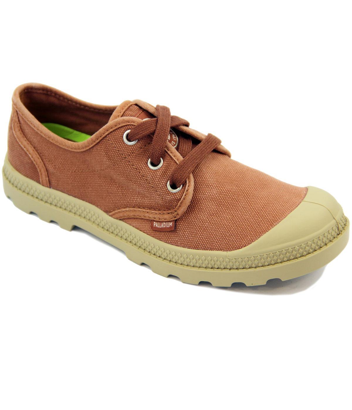 Pampa Oxford PALLADIUM Retro Canvas Shoes (B/P)