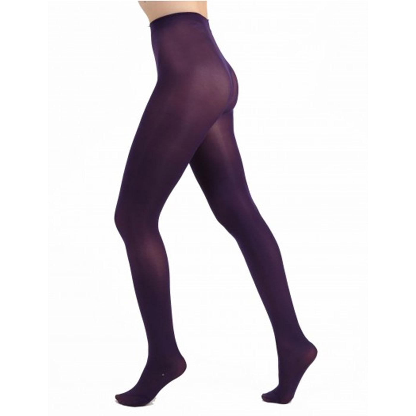 + PAMELA MANN 50 Denier Opaque Tights in Purple