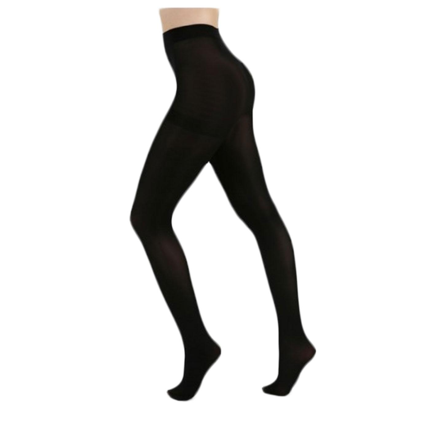 + PAMELA MANN 50 Denier Opaque Tights in Black