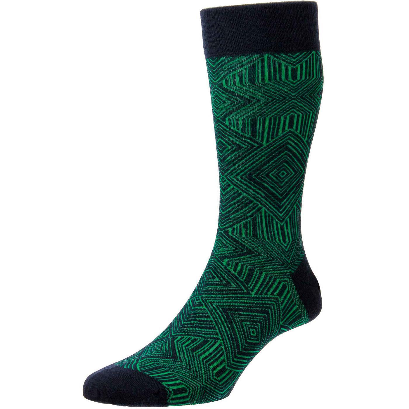 + Glaser PANTHERELLA Mod Made in England Socks N/G