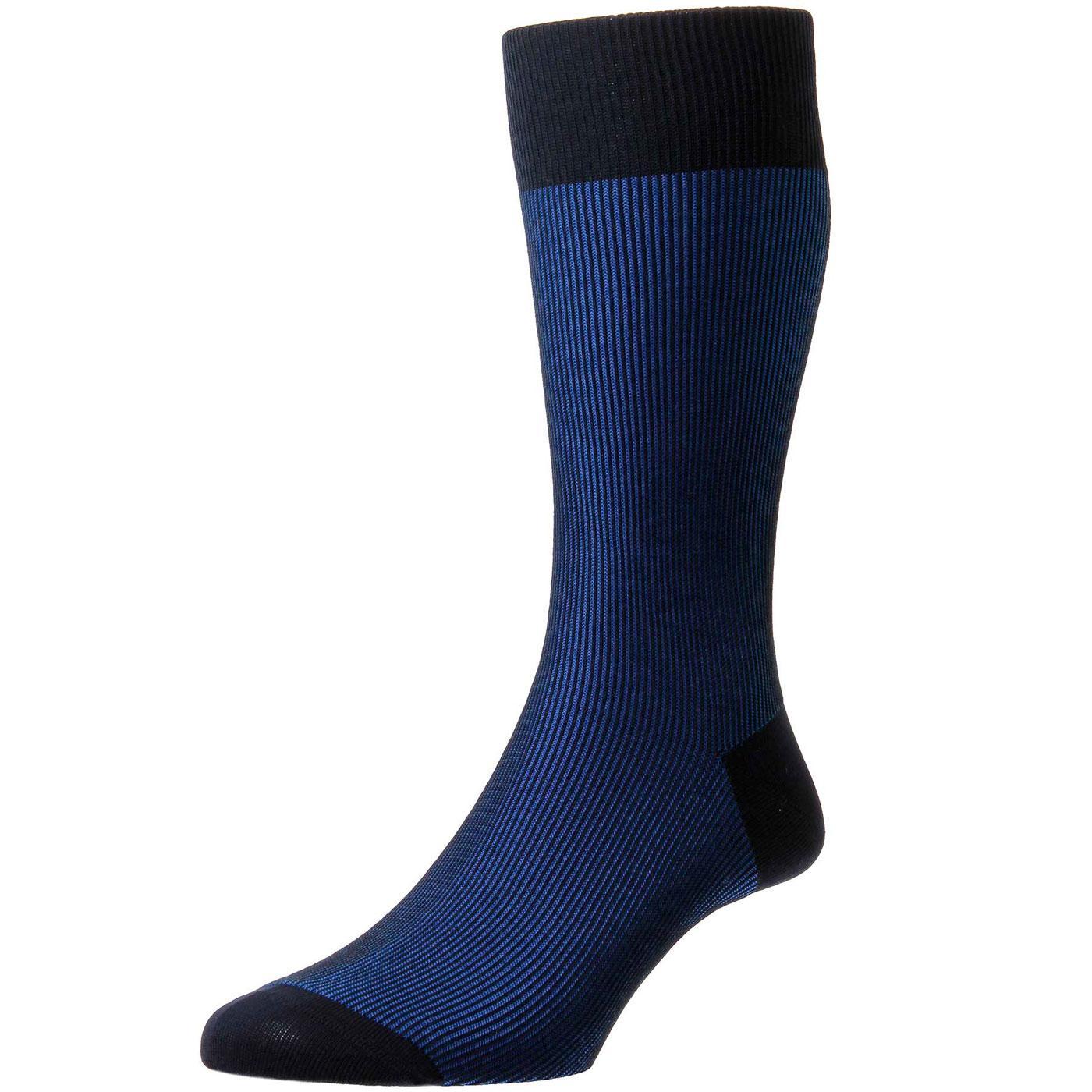 + Santos PANTHERELLA Retro Tonic Effect Socks N/RB