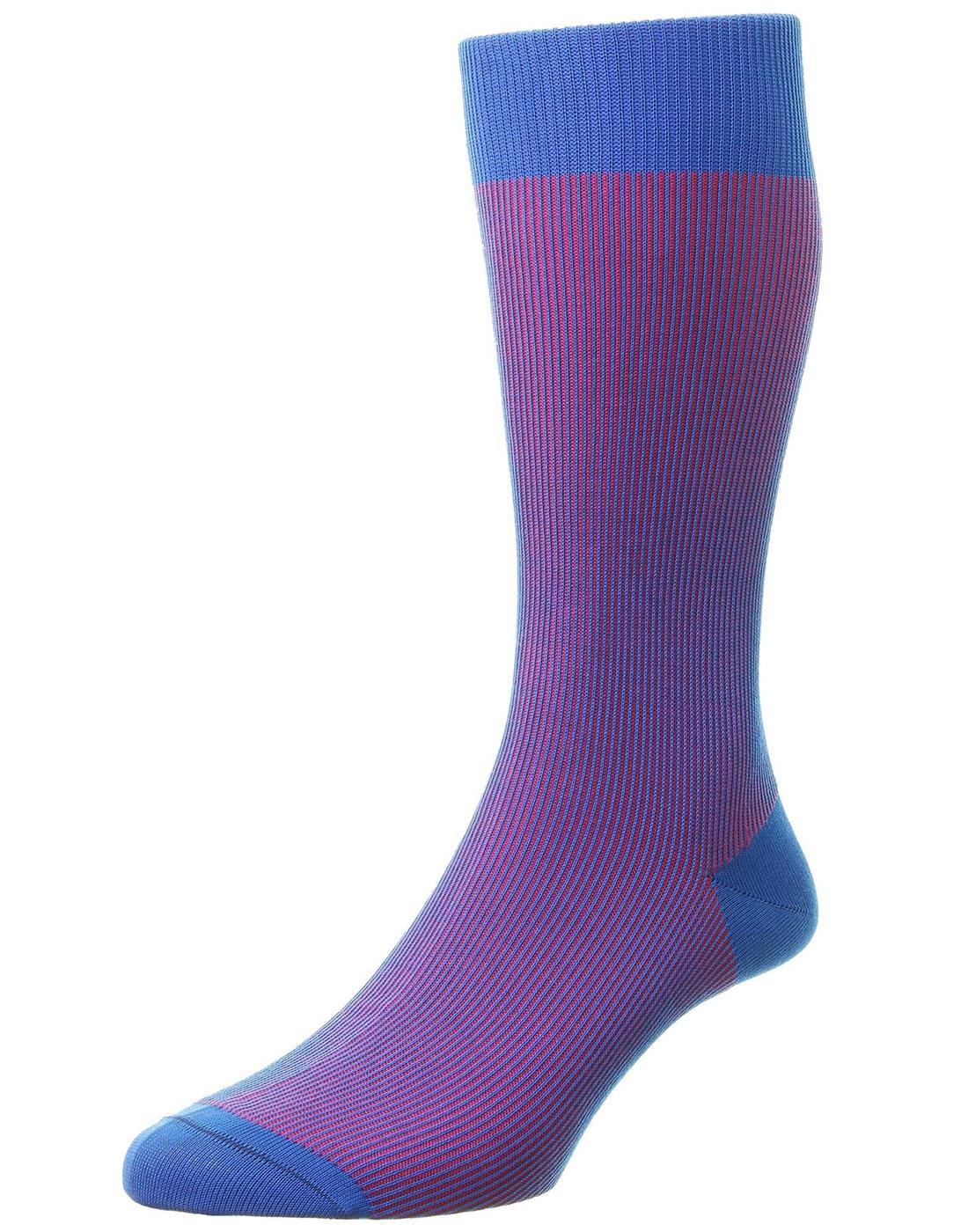 + Santos PANTHERELLA Men's Tonic Effect Socks SB