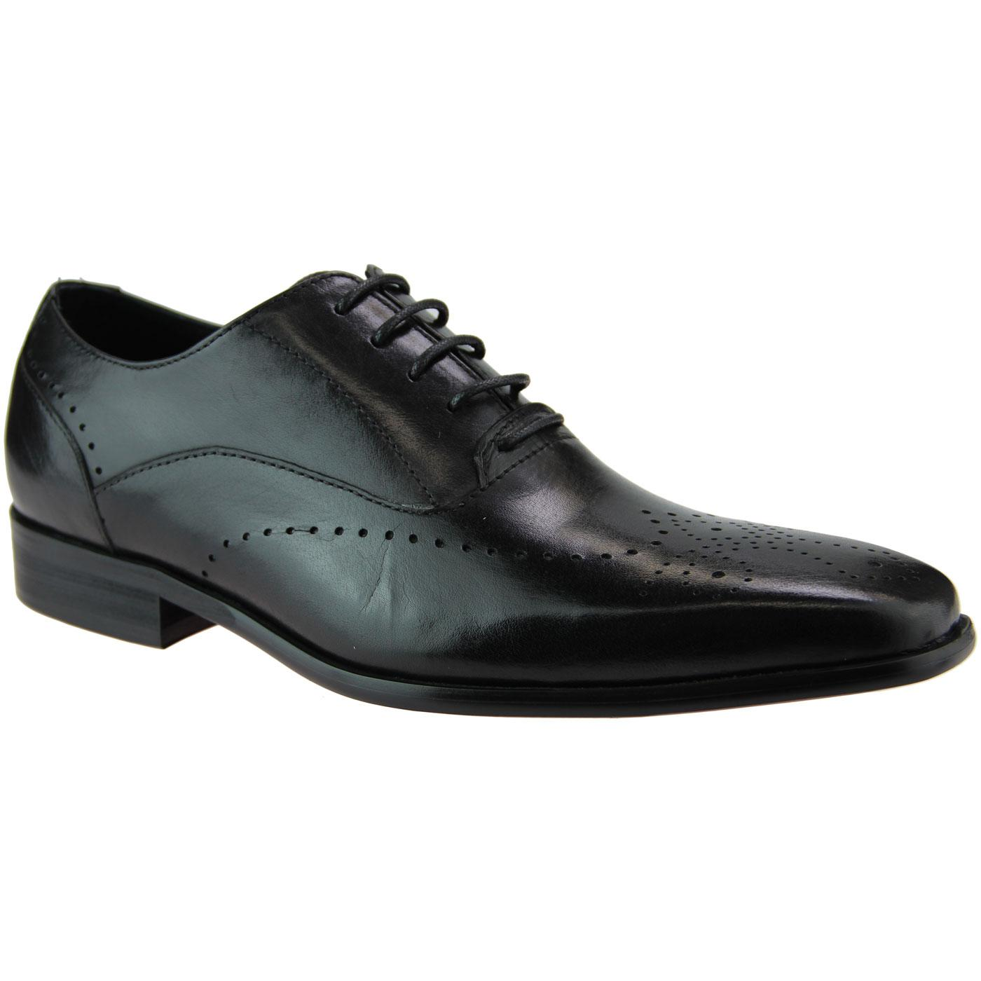 Coulter PAOLO VANDINI Oxford Brogue Shoes (Black)